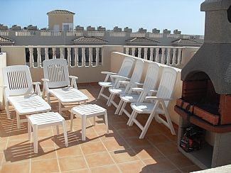Photo for Apartment in Kato Paphos, Cyprus, Sea Views from Private Roof Garden