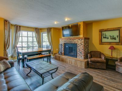 Photo for Newly updated townhome w/ panoramic views of ski slopes - walk to gondola!