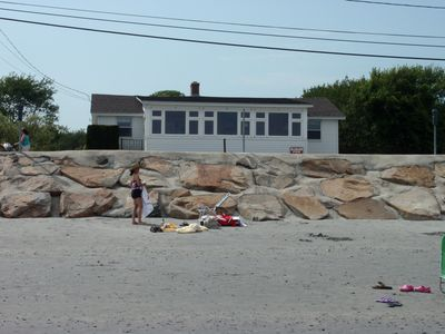 Photo for Oceanfront Beach House With Stunning Views, 20' To Beach,