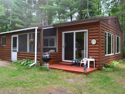 Photo for 2BR Cabin Vacation Rental in Boulder Junction, Wisconsin