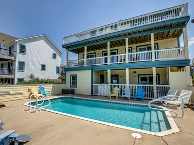 Photo for In Between Dreams | 1432 ft from the beach | Private Pool, Hot Tub, Dog Friendly