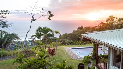 Photo for Stunning ocean view home, extremely private yet minutes from Playa Hermosa, Jaco