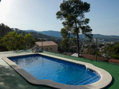 Photo for BEETHOVEN VILLA NEXT TO SITGES, Beautiful and spacious villa, very cozy.