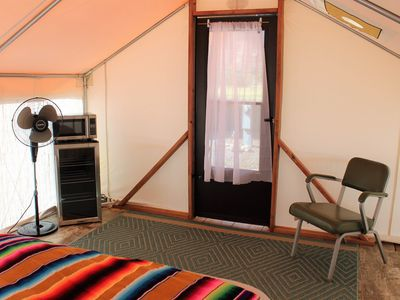 Photo for Glamping Tent with Mountain Views : Basecamp 550 #4