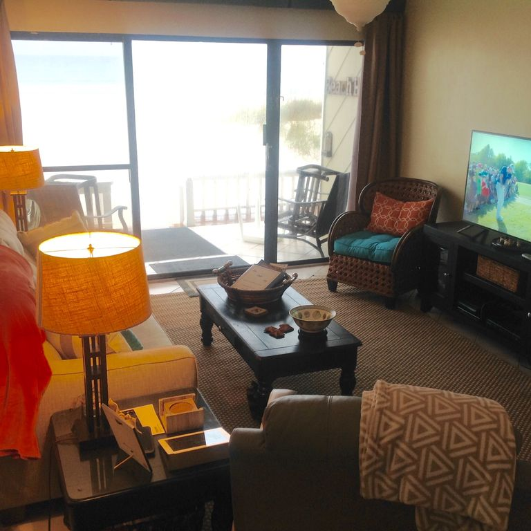 Panhandle Beach House Rentals: Townhouse On The Beach West End Of Panama City Beach