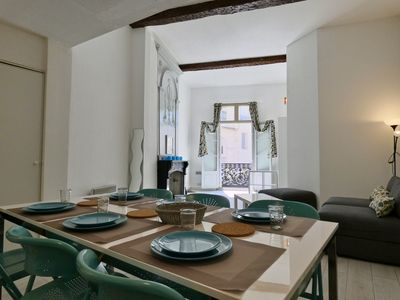 Photo for BRIGHT APARTEMENT - SUPER VIEW ON ST PIERRE CATHEDRAL