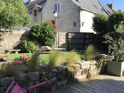 Photo for CHARMING GARDEN CLOSED DUE SOUTH. IN THE HEART OF THE VILLAGE. 1 MIN BEACH, PORT