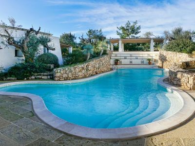 Photo for Vacation home tia pool trullo in Racale - 5 persons, 3 bedrooms