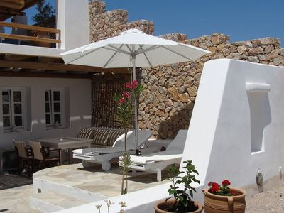 Photo for Villa Sorokos, in private complex in Santorini, 1 bedroom, 3 sleeps.