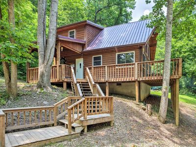 Photo for Mountain Spirit - Humble Retreat in Red River Gorge - Pet-Friendly, Hot Tub, Fireplace, WiFi