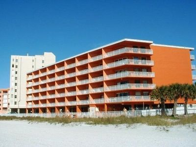Chateaux Condo/beachfront,         building repainted in Nov, new swimming pool, new elevator