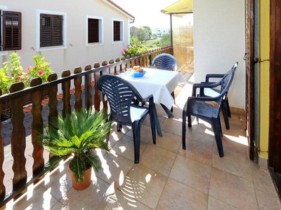 Photo for Two bedroom apartment with terrace Bibinje, Zadar (A-6160-c)
