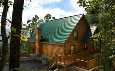 """Whispering Pines"" Log Cabin"