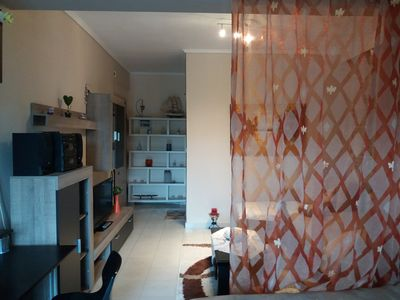 Photo for Βeautiful apartment in Kalamaria ,near the airport.