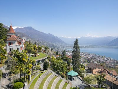 Photo for Panoramic view Apartment, Orselina, Switzerland