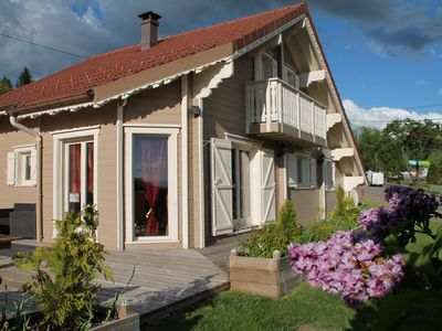 Photo for Magnificent mountain chalet in the Pearl of the Vosges