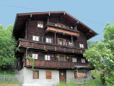 Photo for Rustic Almhouse only 1 km above Matrei with magnificent view