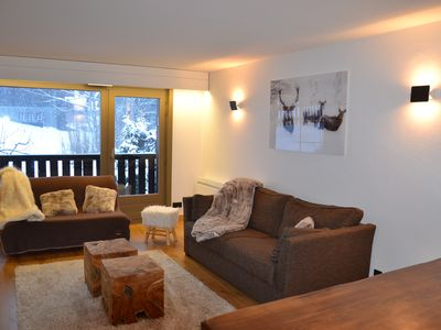 Photo for Megève-Mont d'Arbois, T3 RENOVATED, 50m2, 4 pers. located 5 minutes from the slopes.