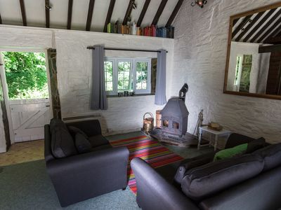 Photo for Holiday cottage in quiet location near Rosamunde Pilcher trail