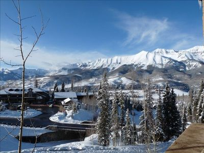 Double Cabins Ski Run and Market with Gondola across from our place!