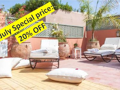 Photo for RIAD DE CHARME - Near Djemaa el fna - cook available for free