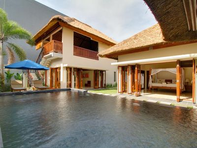 Photo for Two Bedroom Villa with Private Pool - Breakfast