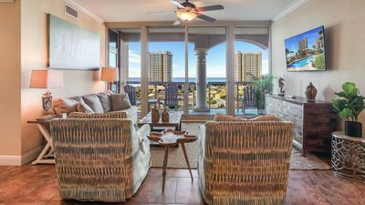 Photo for Newly Decorated 2 Bedroom Skyhome with Stunning Views 1-805
