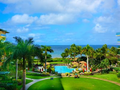 Photo for K B M Hawaii: Ocean Views, Gorgeious! 3 Bedroom, FREE car! May, Jun, Jul, Aug Specials From only $399!