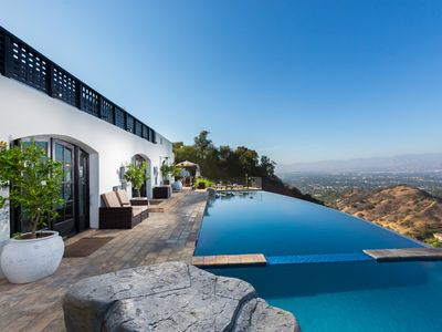 Photo for Million Dollar View Beverly Hills on top of the World w/Epic Views-pool/spas