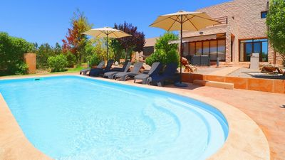 Photo for Modern Countryside Villa with Private Pool ideally located just 6 minutes drive to Es Trenc Beach!