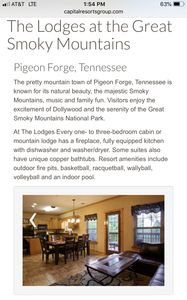 Photo for Last Minute Pigeon Forge Vacation Jan 20-27