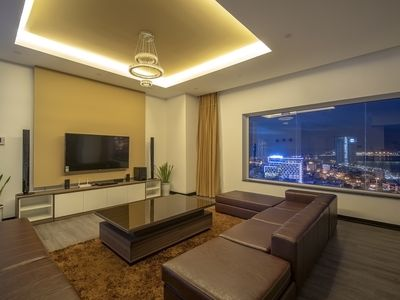 Photo for Luxury Penthouse with Private Rooftop Bar