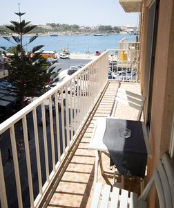 Sun-drenched Balcony, for breakfast and great seaviews (and beyond)
