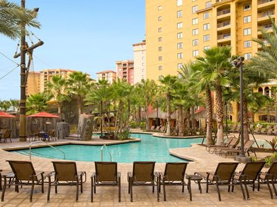Photo for Cozy Condo Adjacent to Disney w/ 2 Lazy Rivers, 5 Outdoor Pools and More!