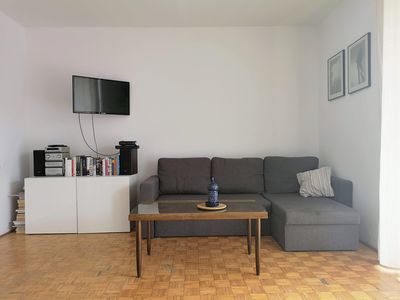 Photo for Cozy studio apartment in the heart of Warsaw, Old Praga