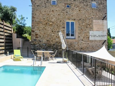 Photo for 2BR Apartment Vacation Rental in Roquebrun, Occitanie