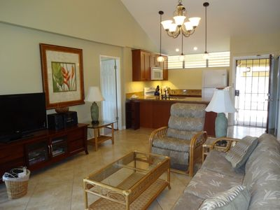 Photo for Large, Sunny 2BR/2BA, Great Beach.  Prices 5 or more nts include Tax/Cleaning!!!