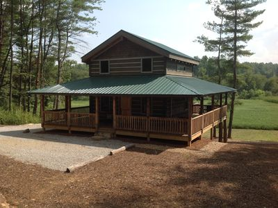 Photo for Newly Constructed Custom Cabin Located In North Carolina's Best Kept Secret