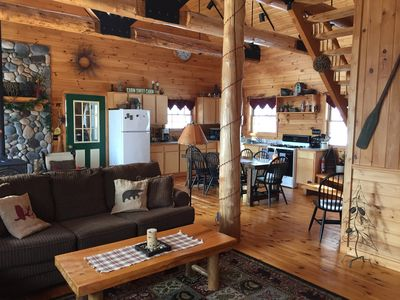 Photo for Private Adirondack Cabin Great For Families Near Town & Beach Located on Trail 4