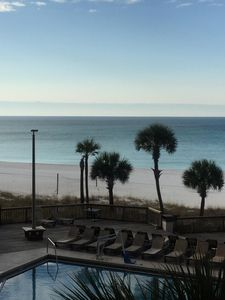Photo for Beutiful white sandy beaches!Condominium is directly on the beach.  Great Views!