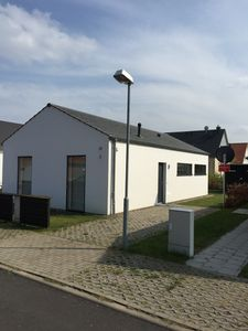 Photo for Modern holiday house on approx. 300 m² plot directly in the Wismbucht / Baltic Sea