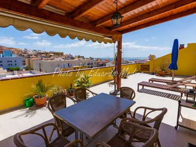 Photo for Beautiful penthouse with large sunny terrace
