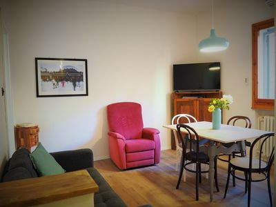 Photo for Whole apartment a stone's throw from the center and the Bologna fair area