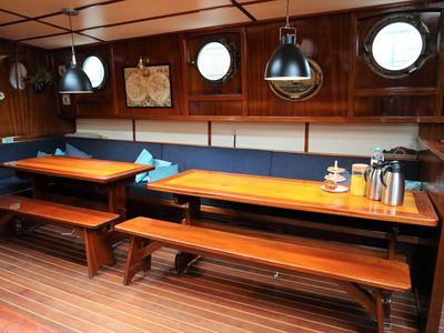 Photo for Antique & luxurious sailing ship Waterwolf, 26 beds.