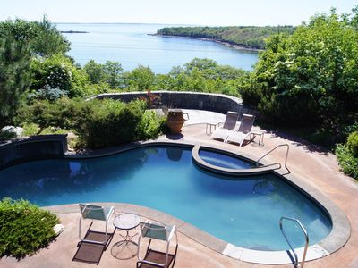 Photo for Stunning views of Penobscot Bay from home and expansive outdoor living spaces