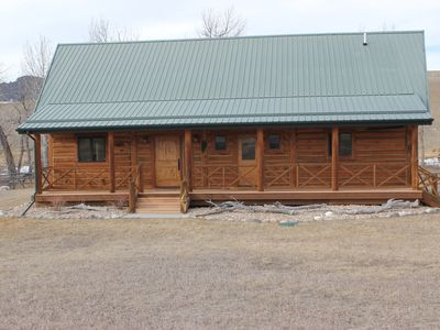 Photo for Spacious 2 Bedroom Cabin located on the beautiful Stillwater River.