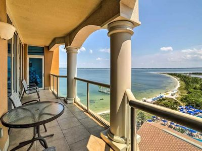 Photo for Portofino 4-1002 2 Bedroom Condo with Breathtaking Bay & Life Style Center Views