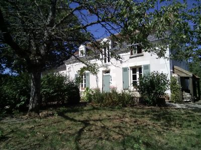 Photo for GETAWAY or WEEKEND 20 mins Zoo St Aignan, peaceful cottage with large garden