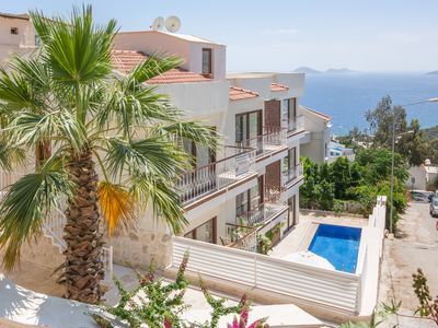 Photo for Brand new modern duplex Ventura Apartment in Kalkan Town Center