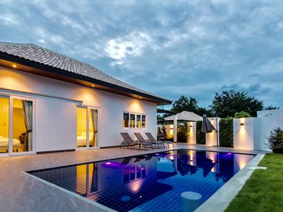 Photo for 3 bed pool villa Hua Hin Thailand